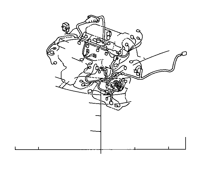 Toyota Avalon Connector, wiring harness. Wire, engine