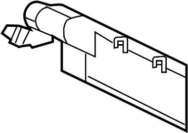 Subaru Legacy Vapor Canister. TURBO. Evaporative, Engine