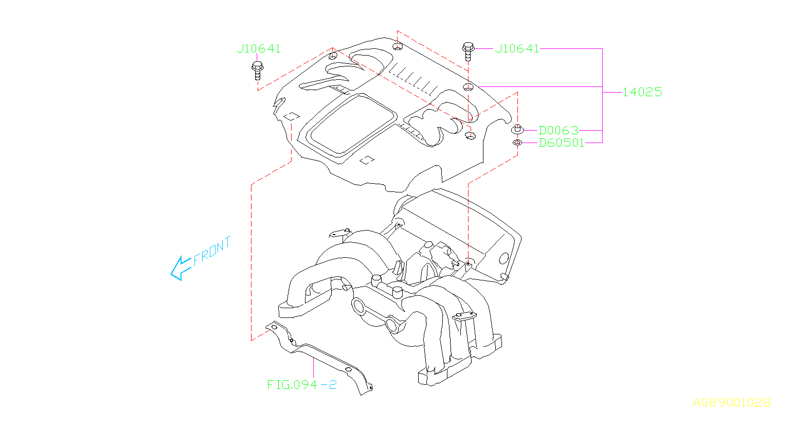 Subaru Legacy Bolt Engine Cover Cooling