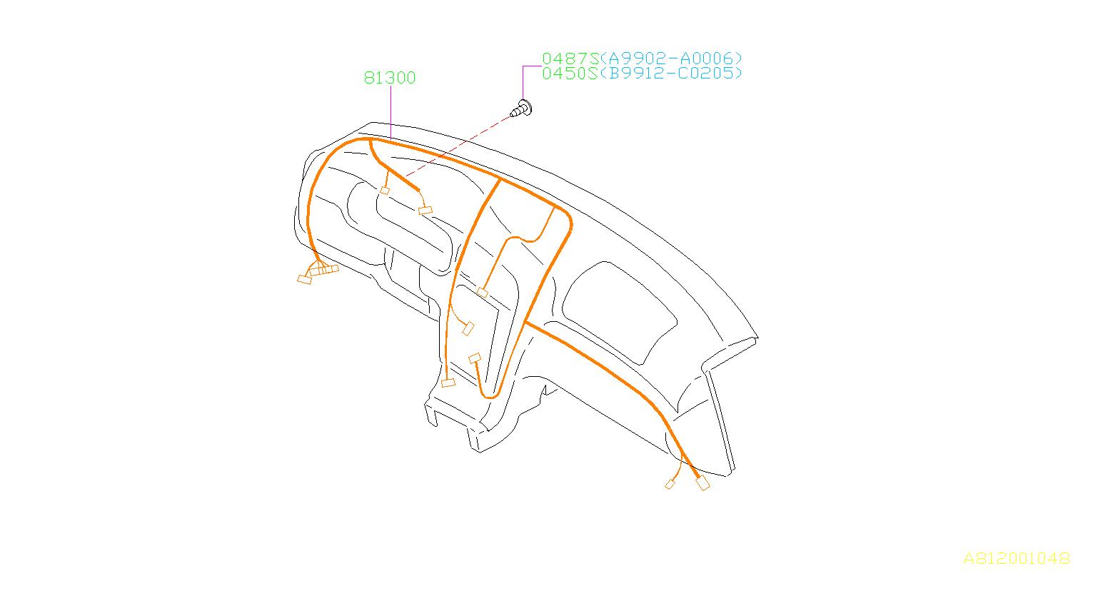 subaru baja wiring diagram