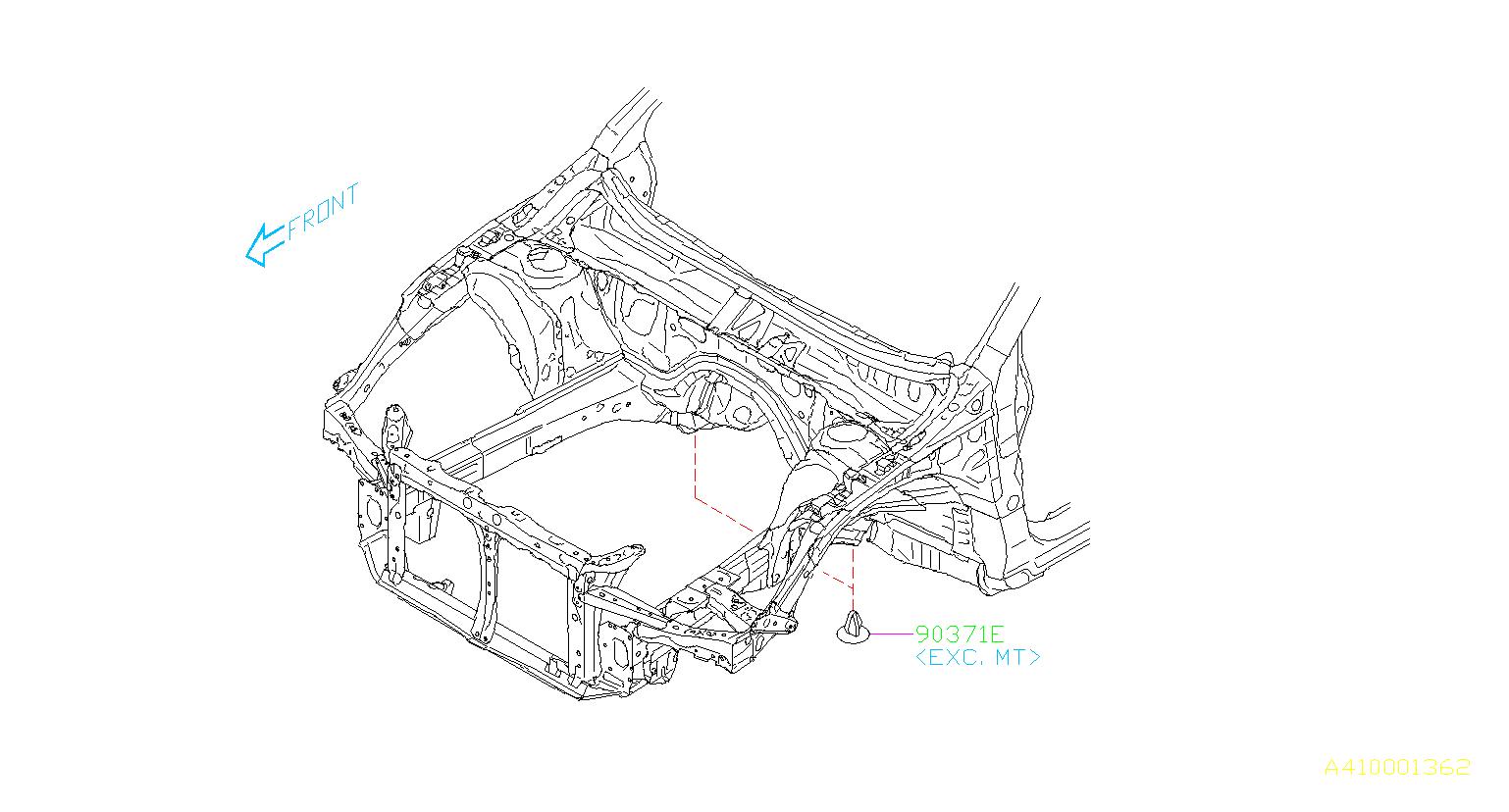 Subaru Legacy Plug-12. Mounting, maintenance, protector