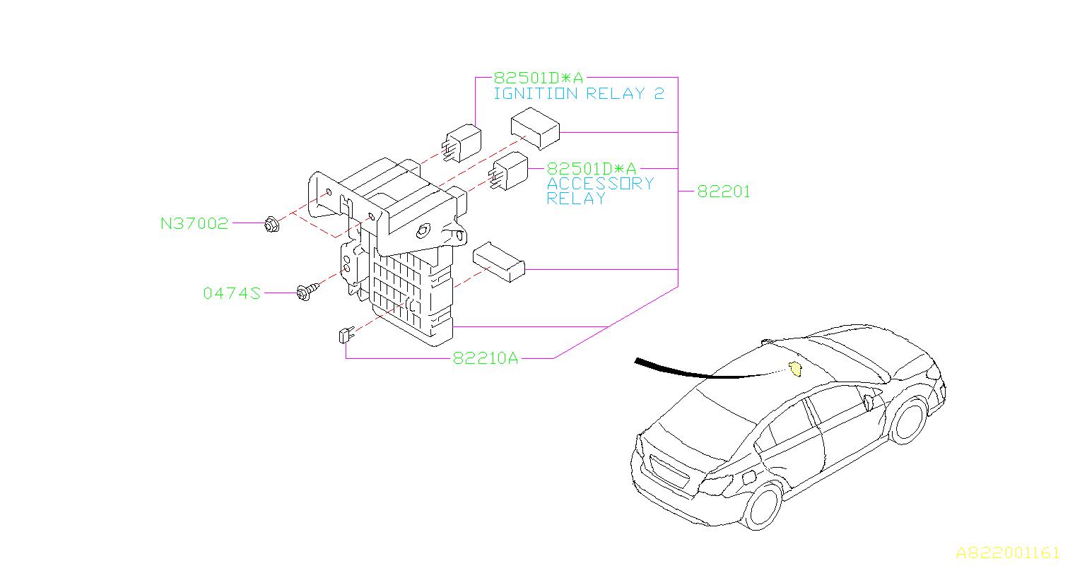 1996 subaru impreza fuse box diagram