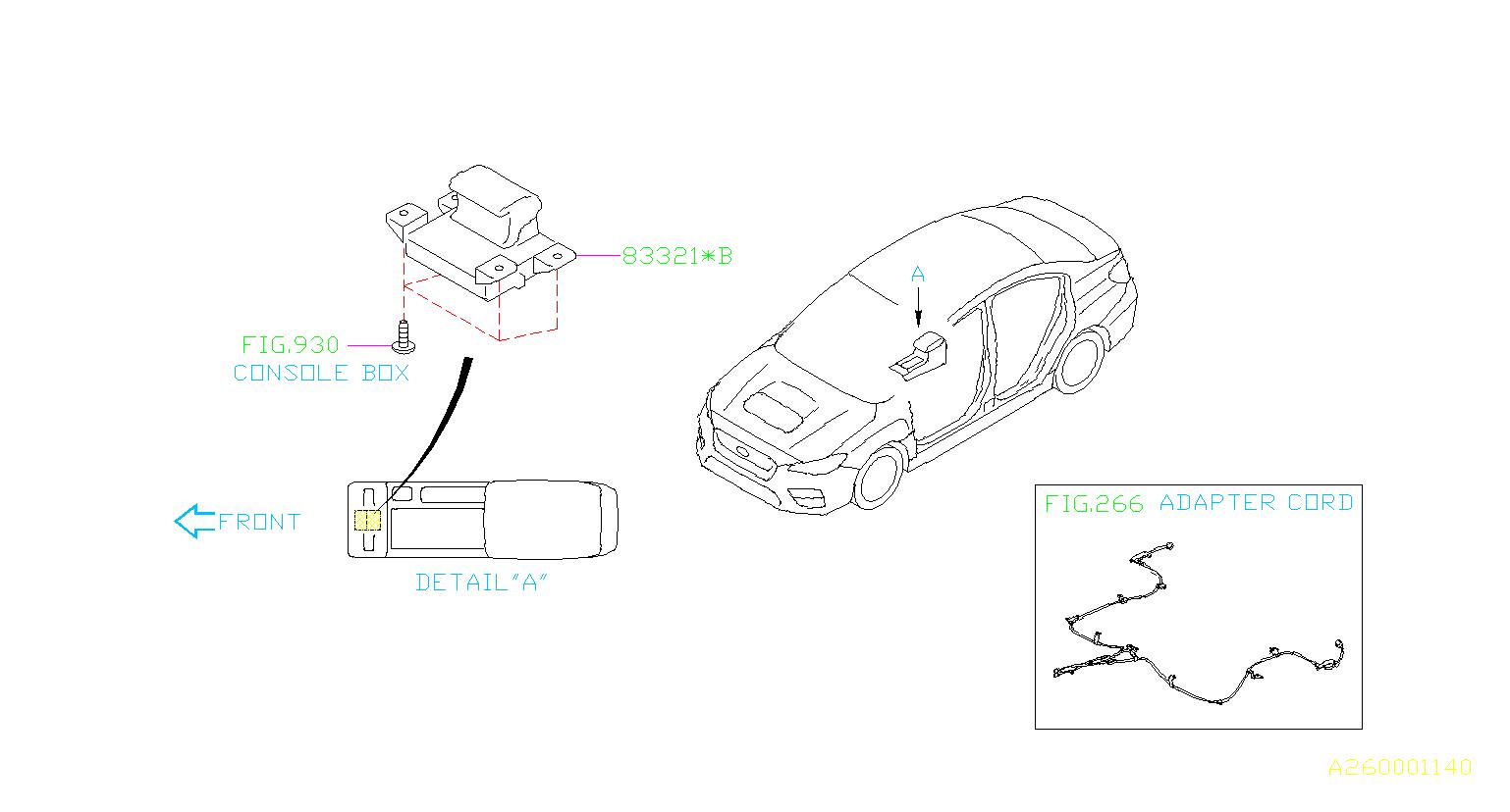 Subaru Wrx Switch Assembly Hand Brake Parking System