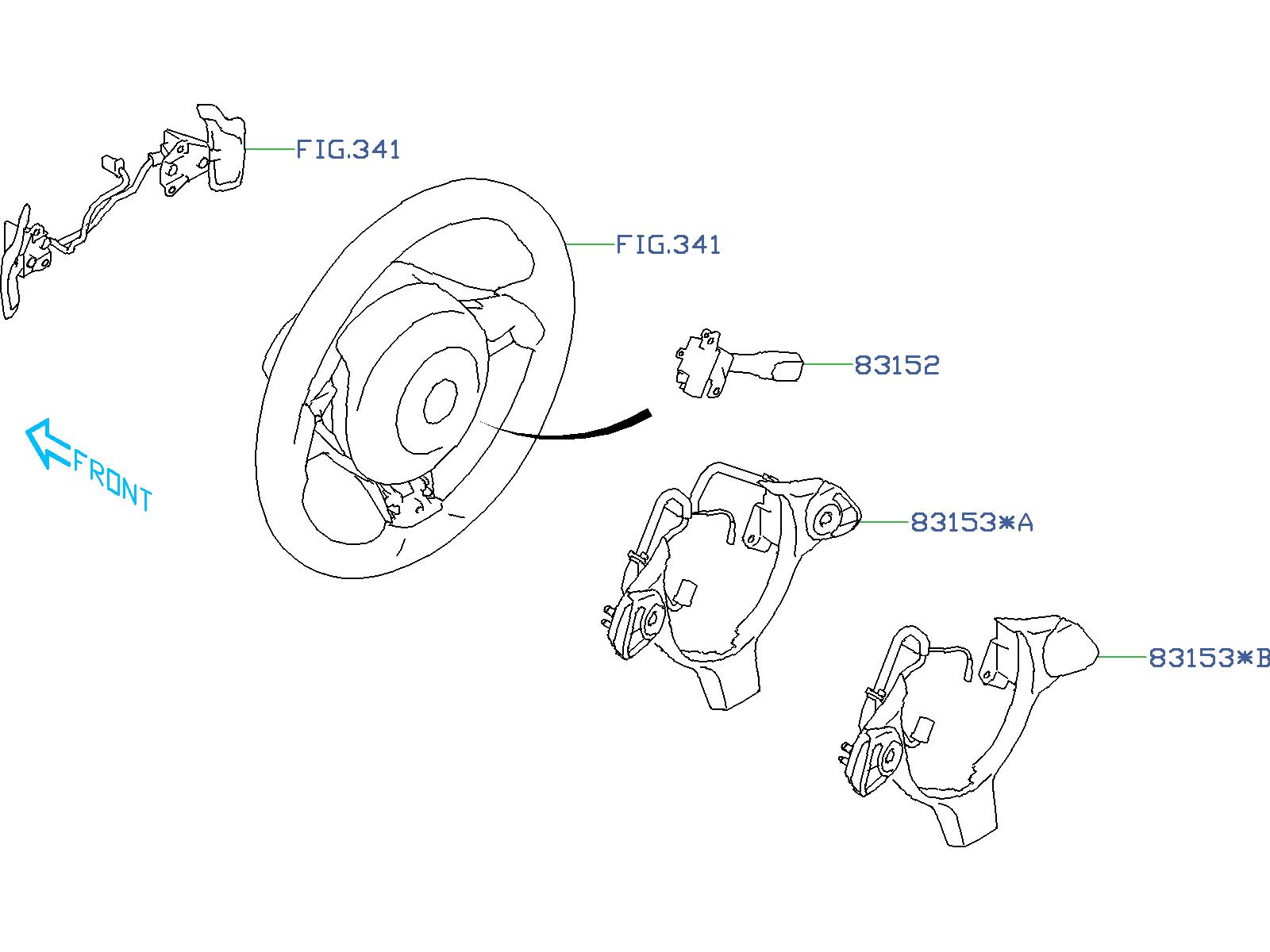 Subaru BRZ Switch-cruise control. Steering