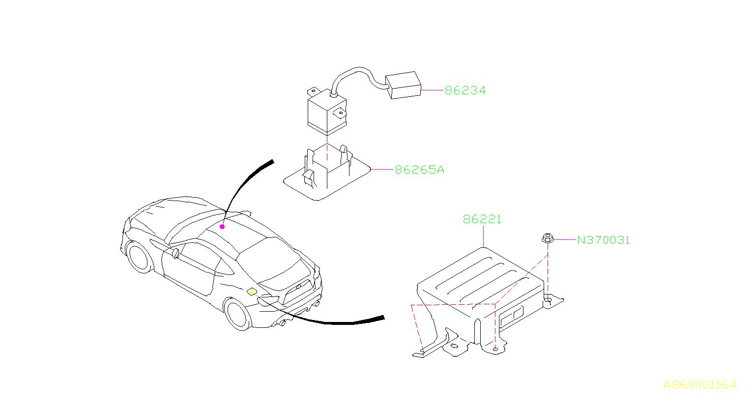 Subaru BRZ Cover. System, radio, electrical, audio