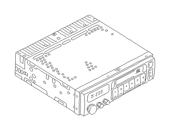 1998 Subaru Legacy Knob-radio, volume. Electrical, audio