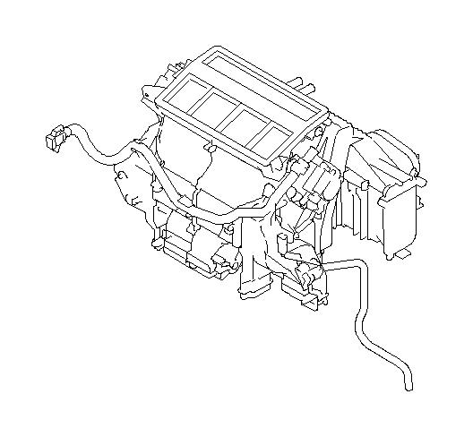 Subaru Legacy Heater unit&blower assembly. Auto. System