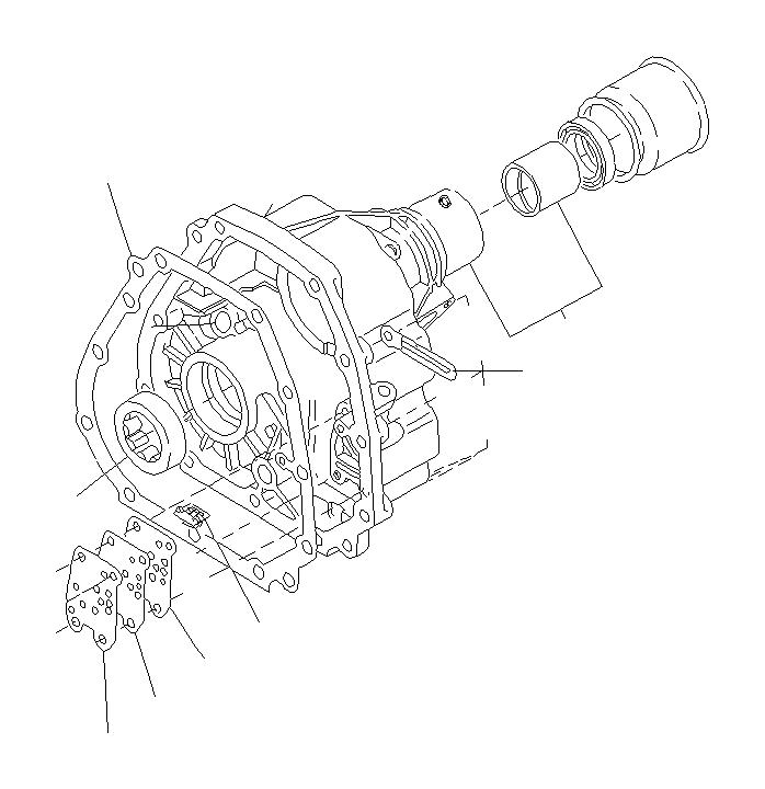 Subaru Legacy Oil seal. Extension, transfer, transmission
