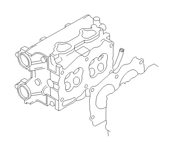 2002 Subaru WRX Gasket-cylinder head. System, engine
