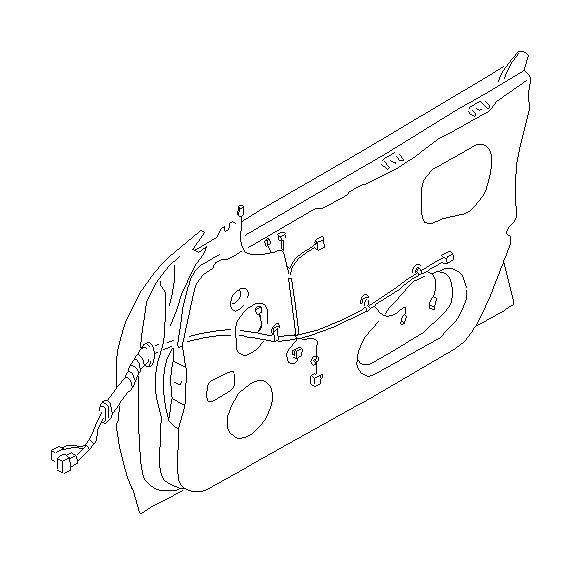 Subaru Forester Cord-door driver. C0. Electrical