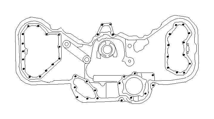 2006 Subaru Outback Bolt-socket. Belt, cover, timing