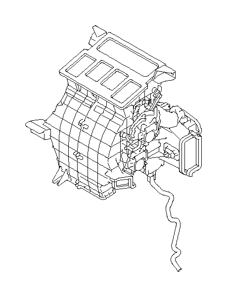Subaru Tribeca Hose-heater drain. System, maintenance