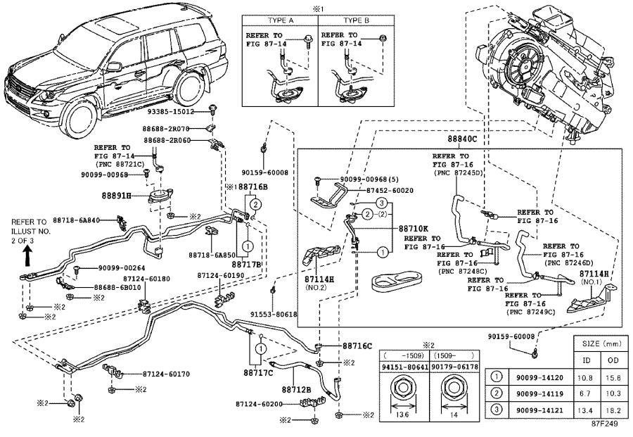2000 Lexus Hvac unit case cover. Rear, box, cool