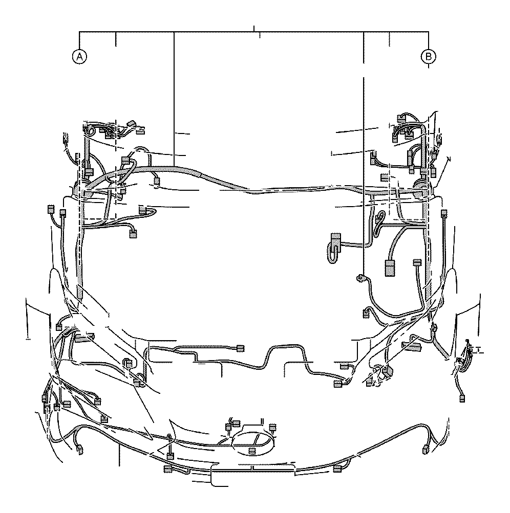 1997 Lexus Wire, engine room, no. 3. Sonar, clearance