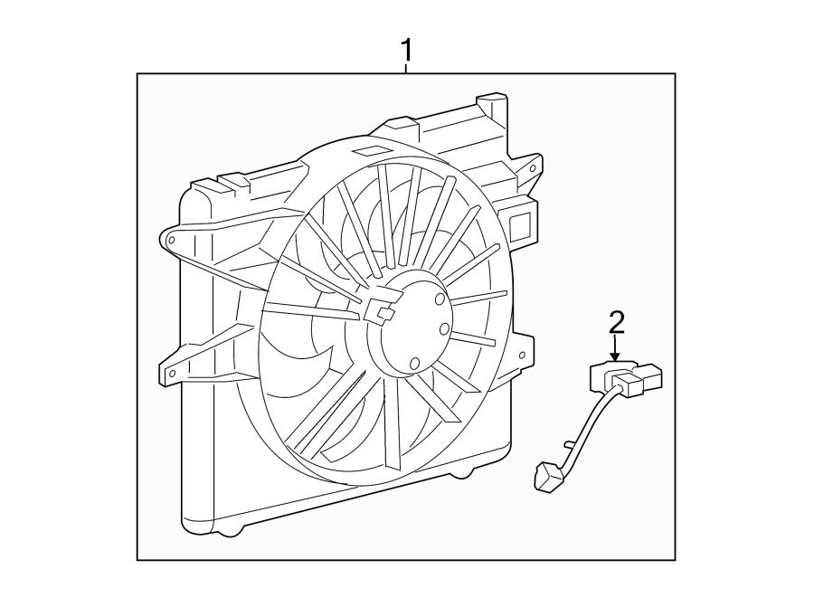 Ford Mustang Engine Cooling Fan Resistor. 5.8 LITER