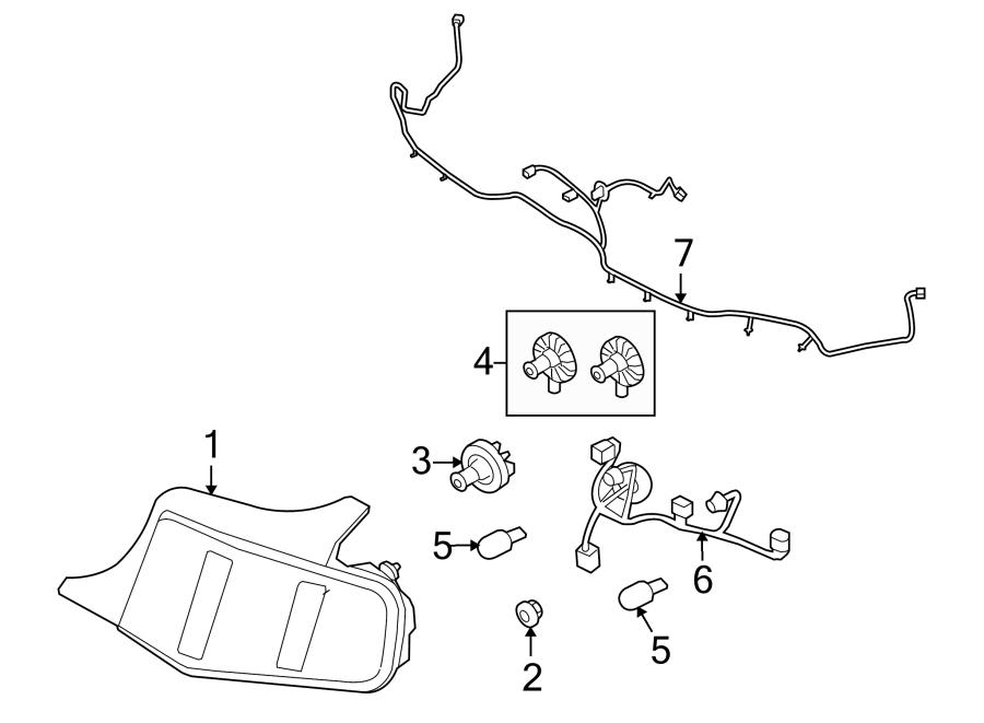 88 mustang rear wiring harness