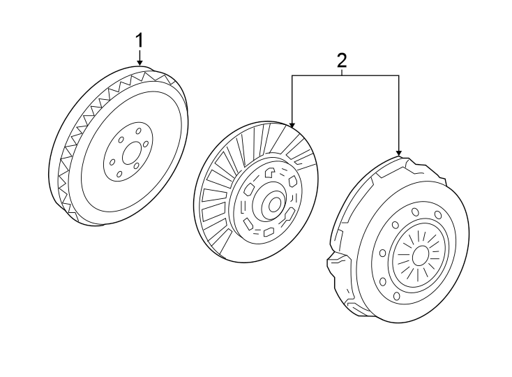 Ford Mustang Clutch Pressure Plate and Disc Set. Replace