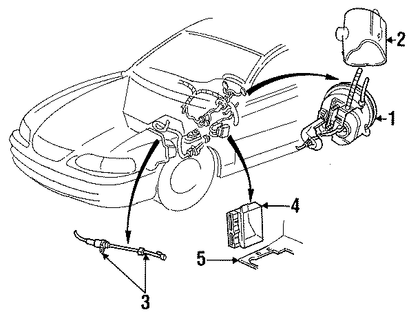 Ford Mustang Actuator ASSEMBLY. 5.0 liter. Mustang; 5.0L
