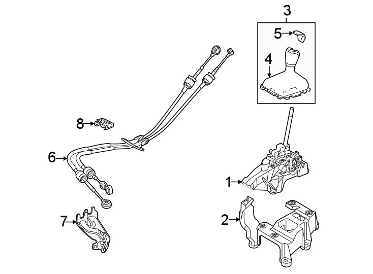 [DIAGRAM] Ford Focus Shifter Assembly Diagram FULL Version