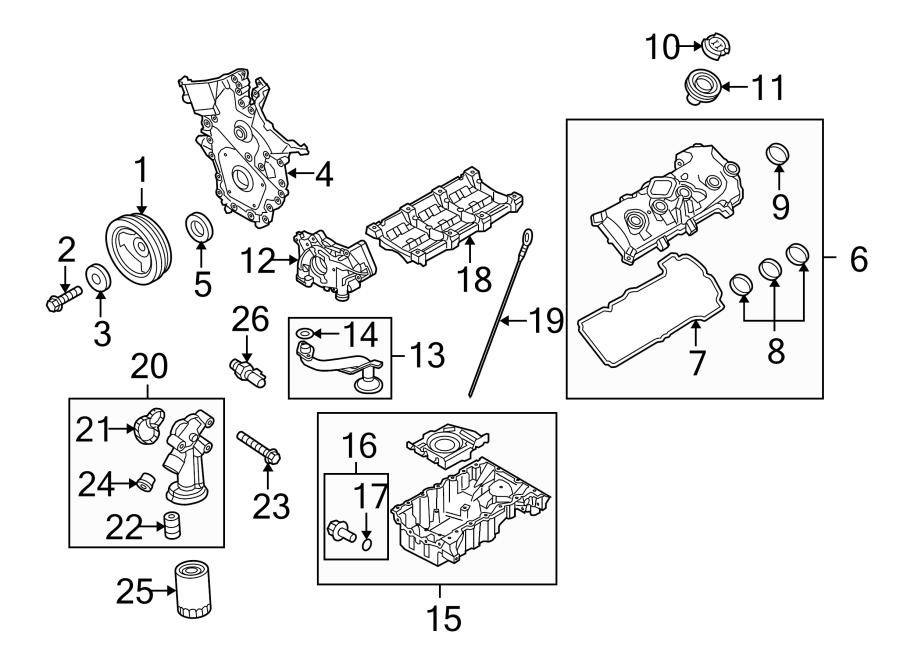 Ford Fusion Gasket. Intake. Manifold. (Lower). LITER