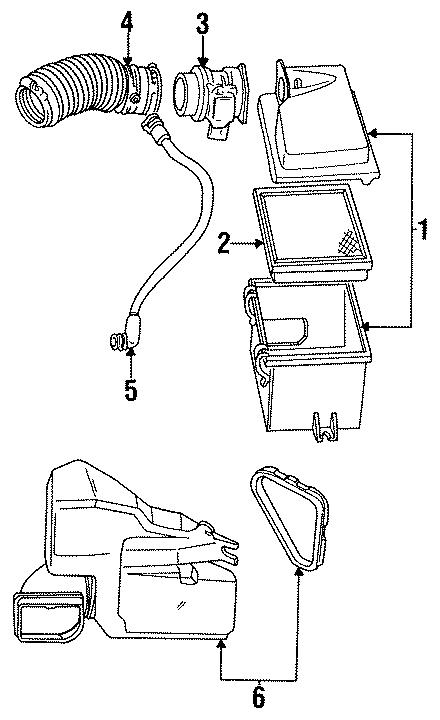 Ford Taurus Resonator Assembly. LITER, SHO, ENGINE
