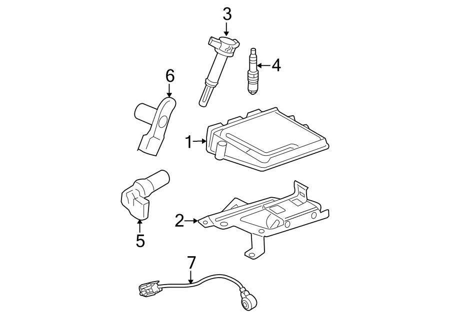 Ford Fusion Engine Control Module Bracket. 2.3 LITER. 3.0