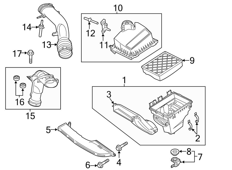 Ford Fusion Sensor. LITER, INTERCOOLER, INTAKE