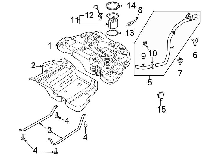 Ford Fusion Fuel Pump Driver Module. LITER, COMPONENTS