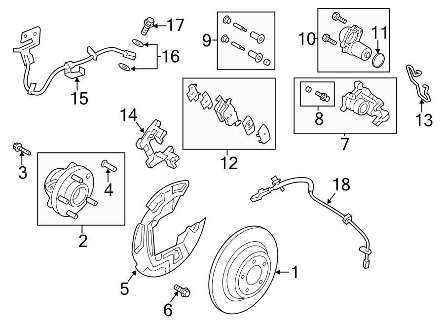 2015 Ford Transit-250 Abs sensor screw. P/s cooler bolt