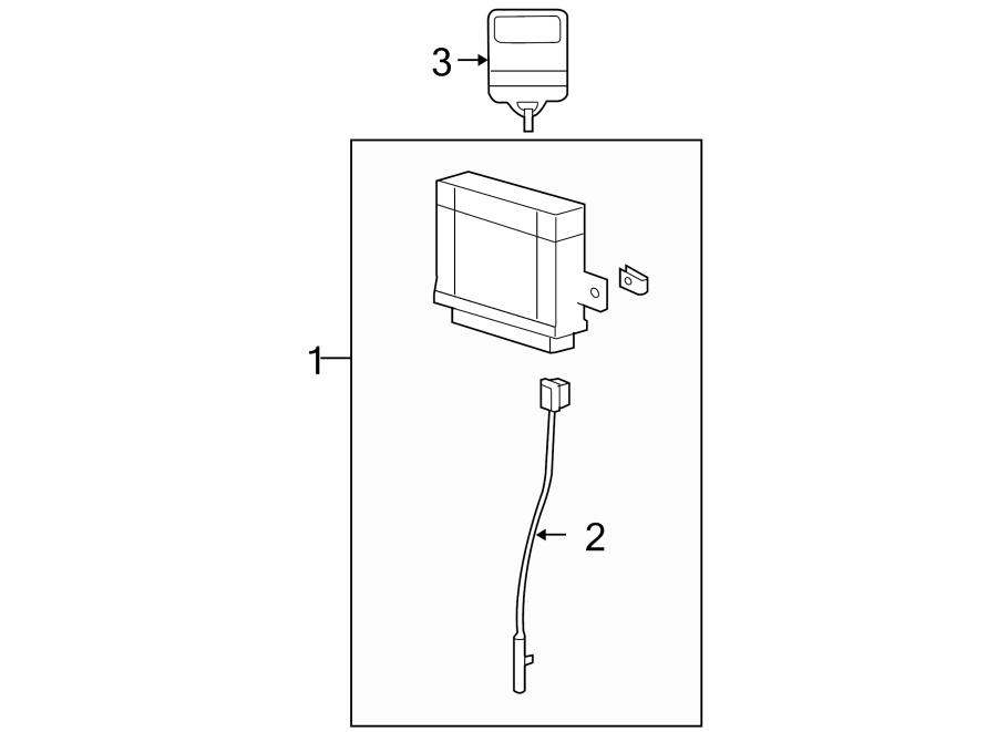 Ford F-150 Keyless Entry Transmitter. Alarm, SYSTEM, MHZ