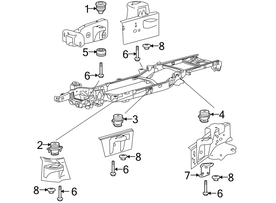 [DIAGRAM] Ford F 350 Body Mounts Diagram FULL Version HD