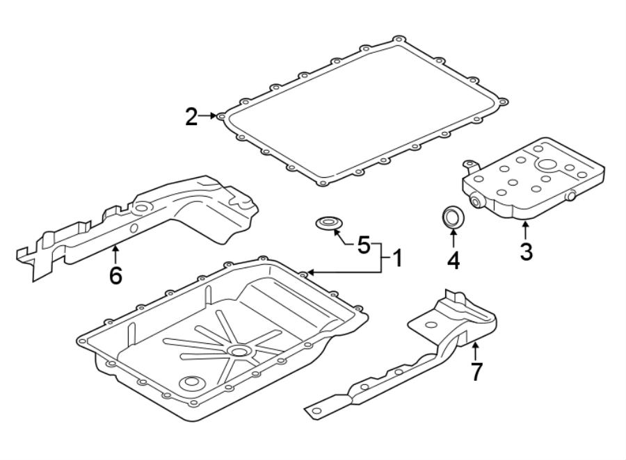 Ford F-150 Shield. TRANSMISSION, Maintenance, Left