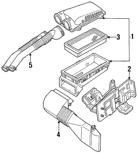1998 Ford F150 Parts Diagram