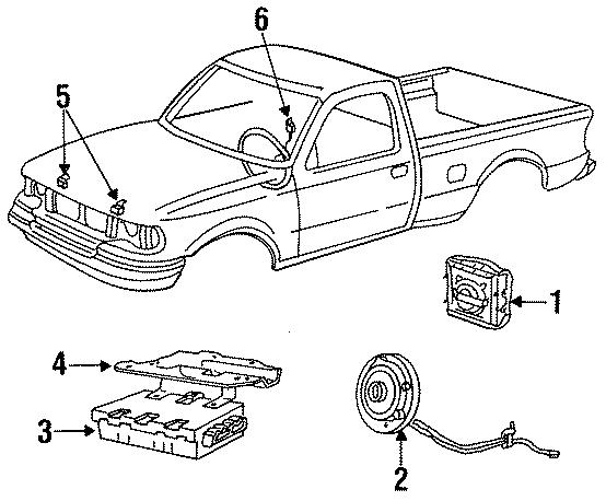1994 Ford F-250 Diagnostic Module. Diagnostic unit