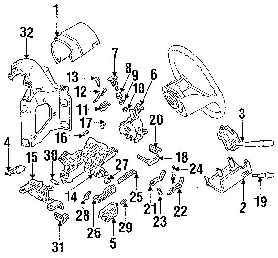 87 ford bronco auto trans wiring diagram