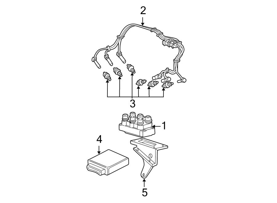 Ford E-350 Econoline Spark Plug. 5.4 liter. 5.4 liter, w/o