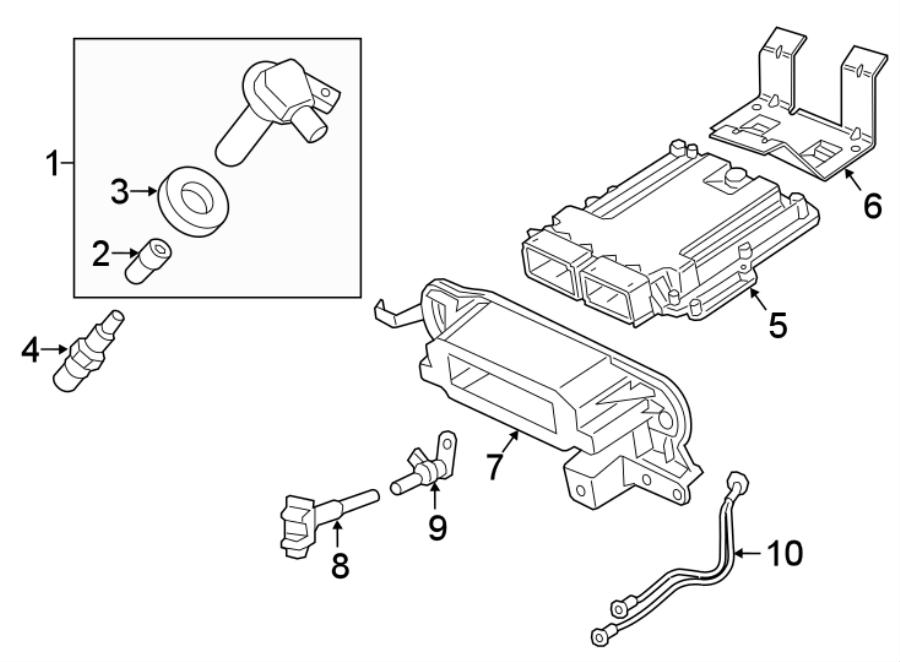 Ford Expedition Engine Camshaft Position Sensor. LITER