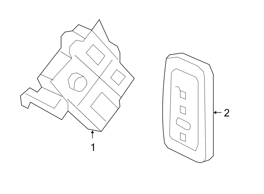 Ford Expedition Keyless Entry Transmitter. Alarm, SYSTEM