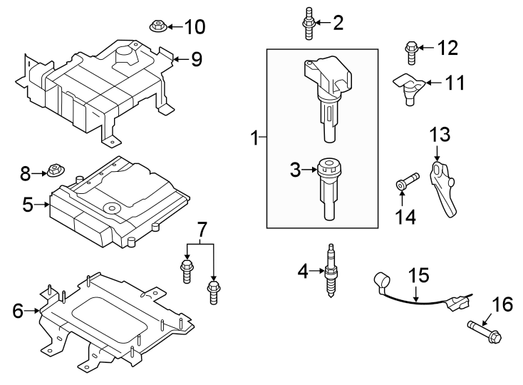 Ford Ranger Ignition Knock (Detonation) Sensor. Sensor