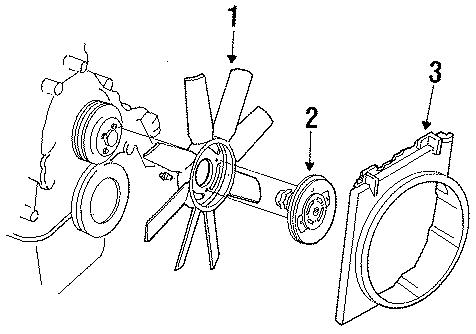 Ford Ranger Shroud. 3.0 LITER, manual trans. 4.0 LITER