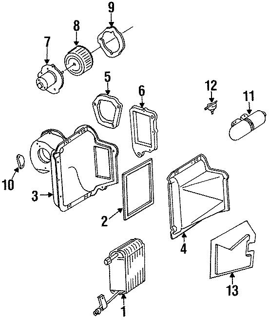 Ford Bronco II Resistor. 1992-96. 1993-94. Aerostar