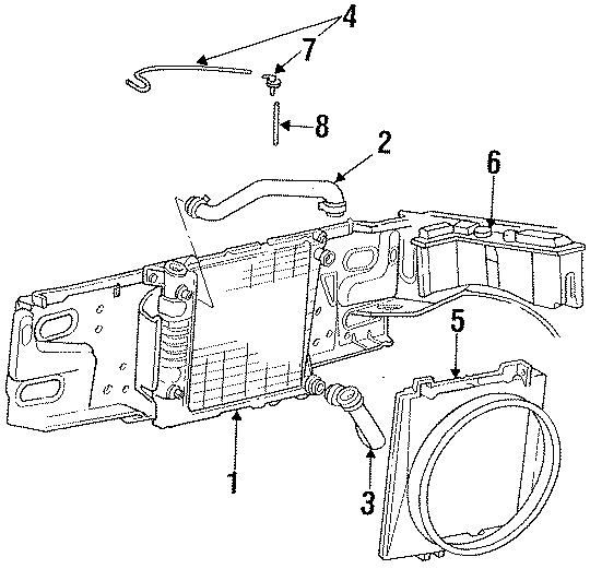 Ford Ranger Shroud. 3.0 LITER. Cooling, RADIATOR, FAN