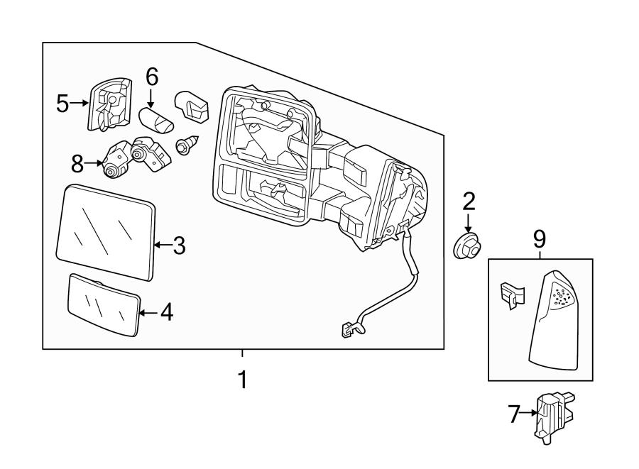 Ford F-250 Super Duty Ambient Air Temperature Sensor
