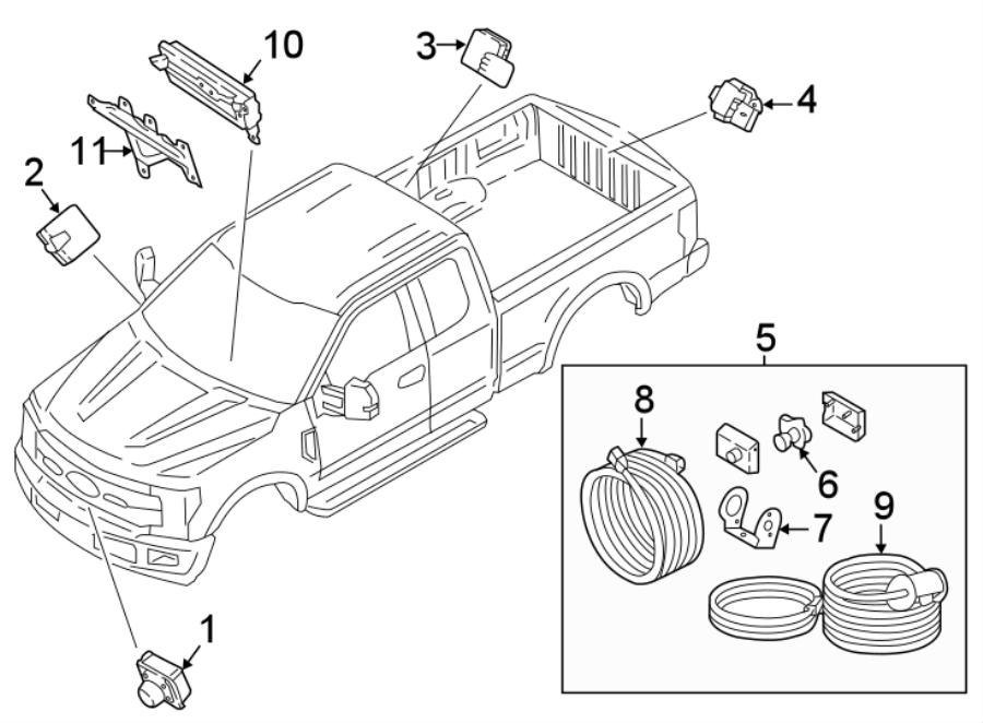 Ford F-250 Super Duty Parking Aid Control Module