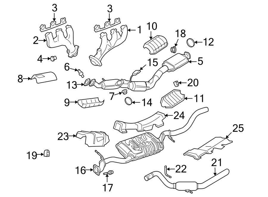 Ford Explorer Manifold plug. 4.0 LITER. EXHAUST, SYSTEM