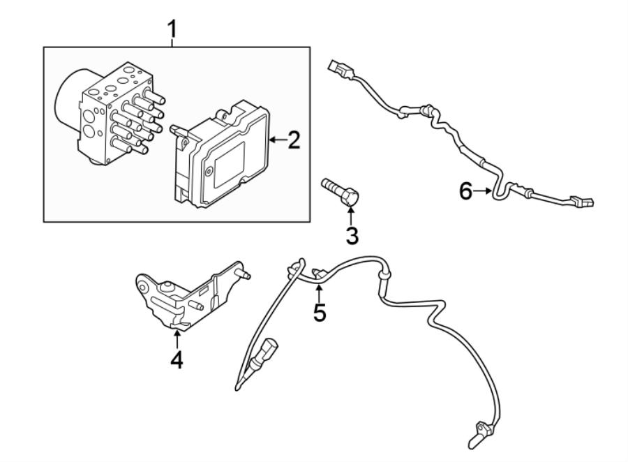 Ford Police Interceptor Utility Abs control module