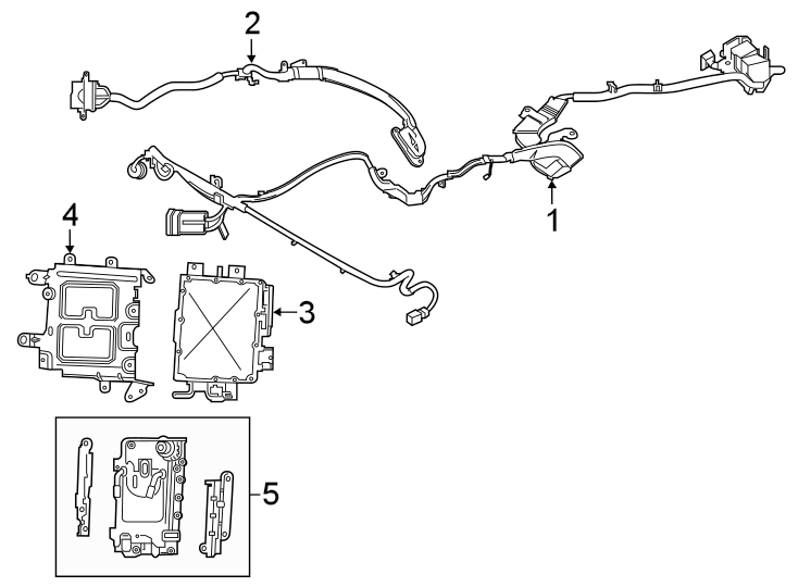 Ford Explorer Connector wire. JUMPER WIRING. HIGH VOLTAGE