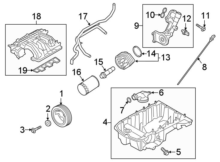 Ford Explorer Engine Intake Manifold. 3.3 LITER