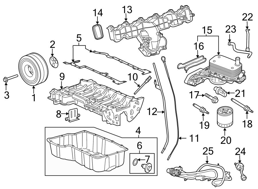 2017 Ford Transit-350 HD Engine Intake Manifold Gasket. 3