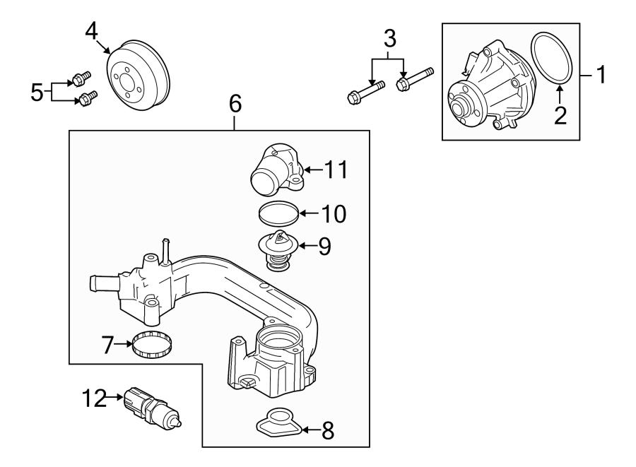 1995 Ford E-350 Econoline Club Wagon Temperature. Sensor